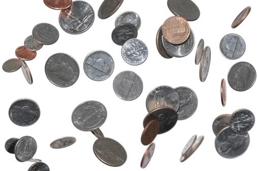 Money to Burn「Change Falling From Sky, Heaven; Pennies, Dimes, Quarters, Nickles」:スマホ壁紙(5)