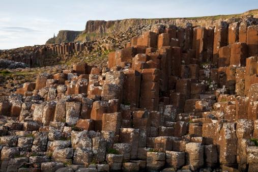 Basalt「Natural Basalt Column Rock Formations」:スマホ壁紙(2)