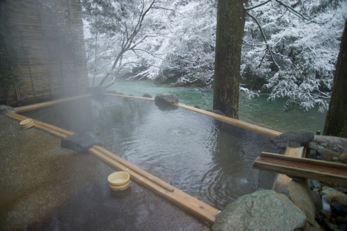 Hot Spring「Hot springs, Yamanaka, Ishikawa, Japan」:スマホ壁紙(1)