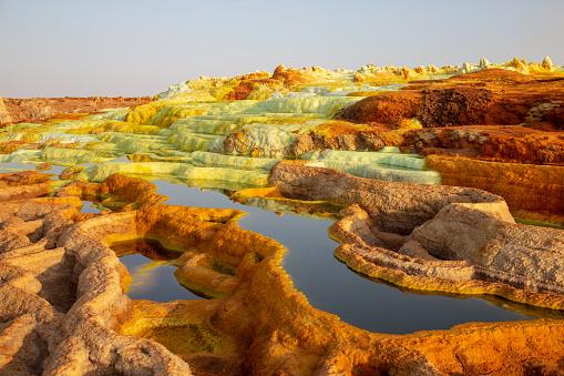 Sulphur「hot springs in the danakil depression」:スマホ壁紙(15)