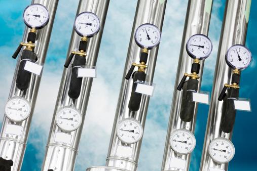 Pressure Gauge「The industrial unit of heating system」:スマホ壁紙(18)