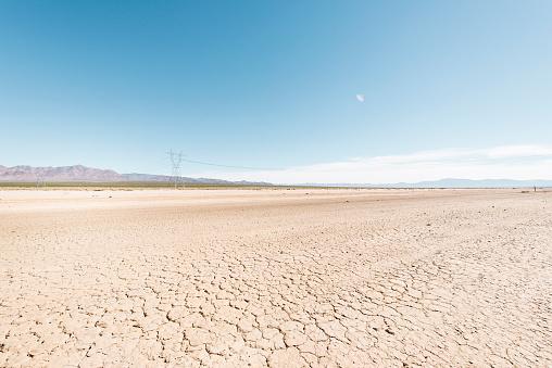 Arid Climate「Cracked, dry soil in Nevada」:スマホ壁紙(15)