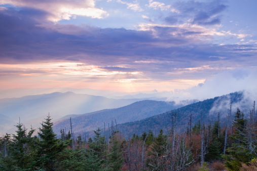 Rolling Landscape「Peaceful Mountain Sunset」:スマホ壁紙(4)