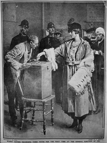 Voting「Women Voting」:写真・画像(4)[壁紙.com]