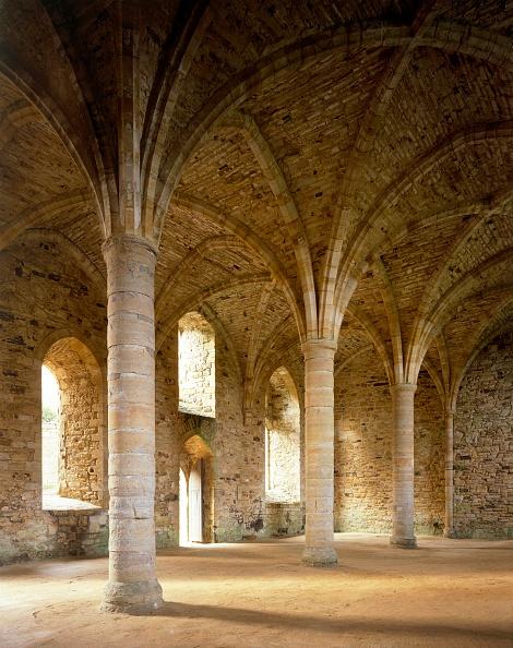 Ceiling「Battle Abbey, c13th century, (1990-2010)」:写真・画像(13)[壁紙.com]