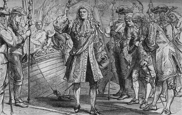 Stuart C「King James II Landing at Kinsale', 12 March 1689, (c1880)」:写真・画像(0)[壁紙.com]