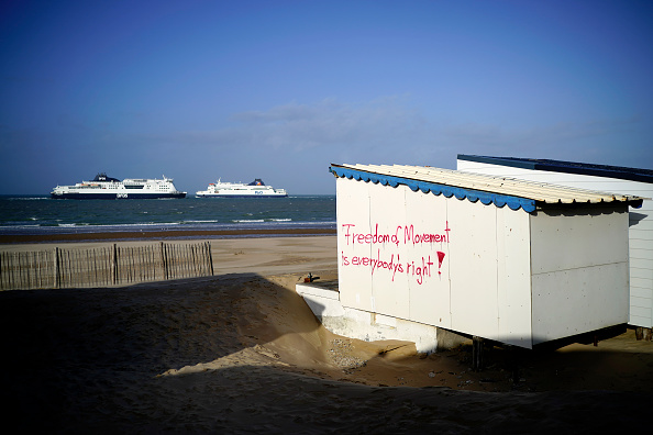 Calais「Activity At Calais As The UK Enters Brexit Transition Period」:写真・画像(11)[壁紙.com]