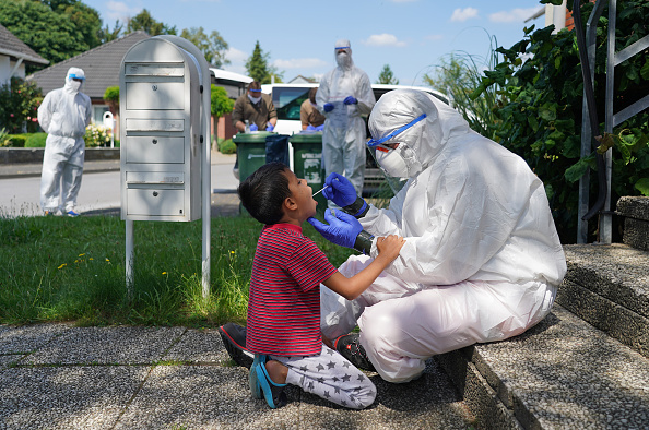 Germany「Guetersloh Region To Go Into Lockdown Following Over 1,500 Confirmed Covid-19 Cases」:写真・画像(12)[壁紙.com]