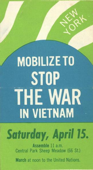 Handout「'Mobilize To Stop The War In Vietnam' Flyer」:写真・画像(16)[壁紙.com]