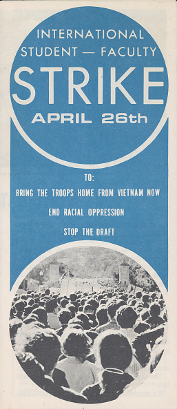 Handout「'International Student Faculty Strike' Flyer」:写真・画像(17)[壁紙.com]