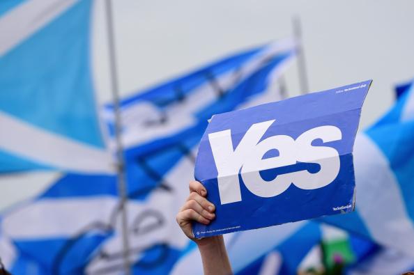 Glasgow - Scotland「Scottish Referendum Campaigning Enters The Final Stages」:写真・画像(12)[壁紙.com]