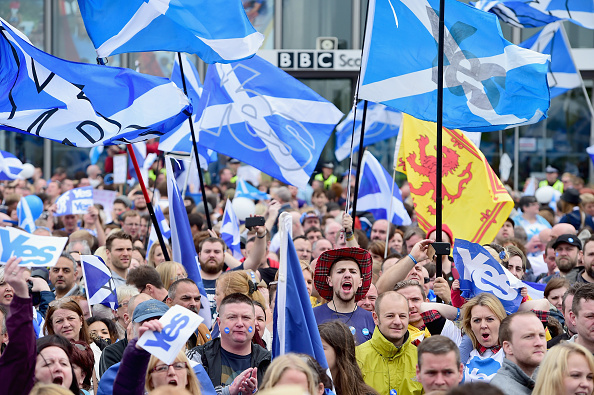 Glasgow - Scotland「Scottish Referendum Campaigning Enters The Final Stages」:写真・画像(12)[壁紙.com]