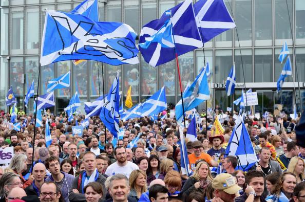 Glasgow - Scotland「Scottish Referendum Campaigning Enters The Final Stages」:写真・画像(18)[壁紙.com]