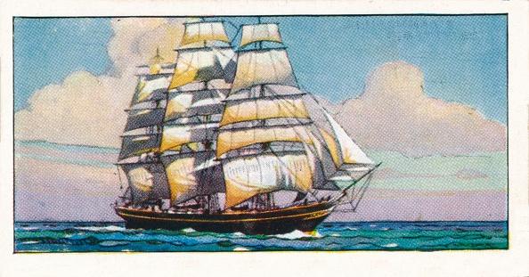 Cigarette Card「Clipper Ship Cutty Sark」:写真・画像(15)[壁紙.com]
