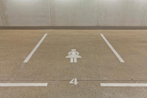 Basement「Germany, Baden Wuerttemberg, Stuttgart, Car park area for women」:スマホ壁紙(19)
