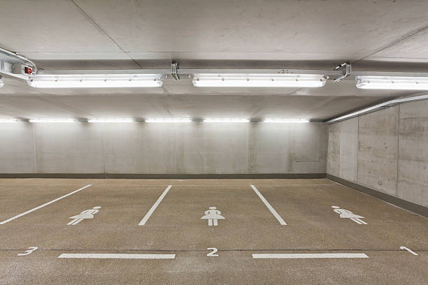 Germany, Baden Wuerttemberg, Stuttgart, Car park area for women:スマホ壁紙(壁紙.com)