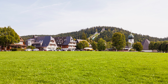 Health Spa「Germany, Baden-Wurttemberg, Black Forest, Hinterzarten climate spa」:スマホ壁紙(19)