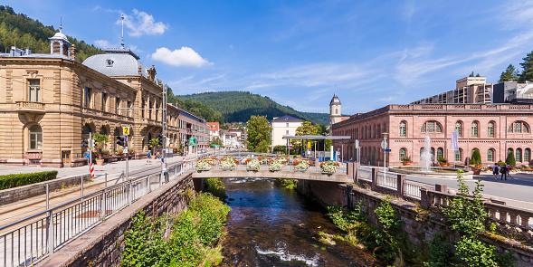 Health Spa「Germany, Baden-Wurttemberg, Black Forest, Health resort Bad Wildbad」:スマホ壁紙(12)