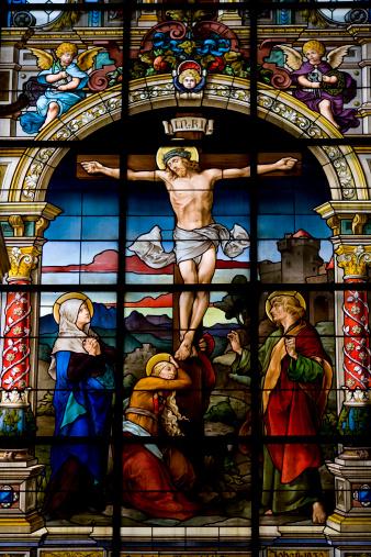 Praying「The Crucifixation by F. Zettler (Stockholm)」:スマホ壁紙(17)