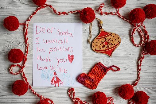 Superhero「A letter to Santa asking for superhero powers」:スマホ壁紙(11)