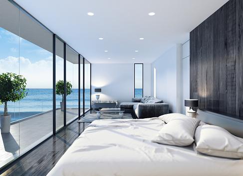 Villa「Modern Contemporary Bedroom」:スマホ壁紙(17)