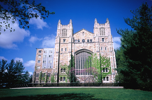 Gothic Style「Low angle of University of Michigan Law School's library」:スマホ壁紙(16)