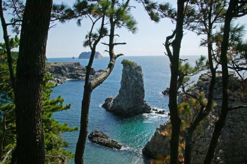 Jeju Island「Oedolgae Solitary Rock.」:スマホ壁紙(17)