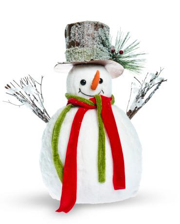 雪だるま「雪の男性」:スマホ壁紙(12)