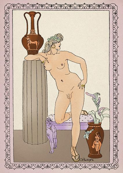 人物「THE NUDE HERMAPHRODITE」:写真・画像(12)[壁紙.com]