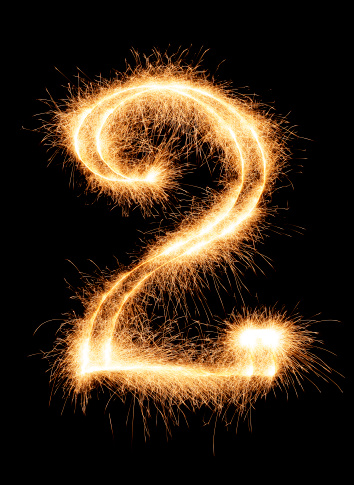 Number 2「Sparkling Number 2」:スマホ壁紙(17)