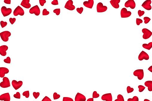 ハート「心臓フレーム」:スマホ壁紙(7)