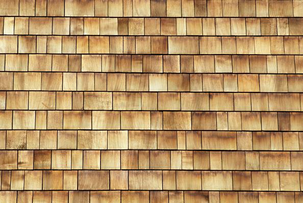 Full Frame「Cedar shingle cladding on a modern mixed-use development, London, UK」:写真・画像(19)[壁紙.com]