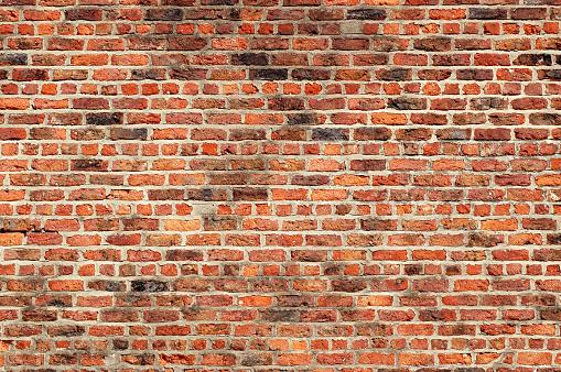 Brick Wall「Big, perfect, interesting and old red brick wall texture」:スマホ壁紙(14)