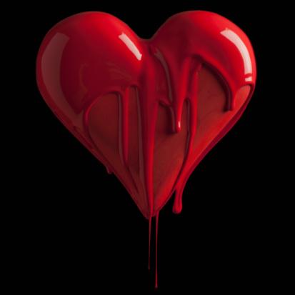 ハート「Heart」:スマホ壁紙(5)
