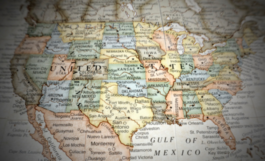 Gulf of Mexico「United Sates of America」:スマホ壁紙(3)