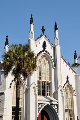 Charleston - South Carolina「Hugenot Church, Charleston」:スマホ壁紙(10)
