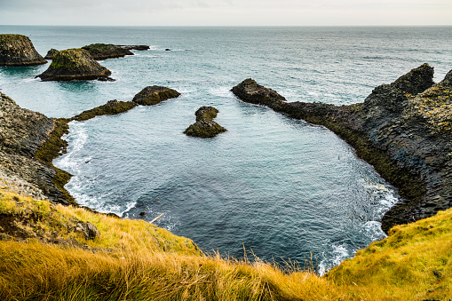 Arnarstapi「Cliffs of Arnarstapi -  Beautiful Formations of Coastline in Iceland」:スマホ壁紙(17)