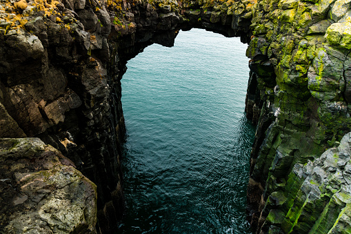 Arnarstapi「Cliffs of Arnarstapi -  Beautiful Formations of Coastline in Iceland」:スマホ壁紙(5)
