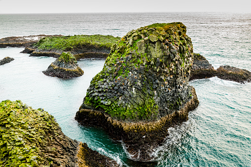 Arnarstapi「Cliffs of Arnarstapi -  Beautiful Formations of Coastline in Iceland」:スマホ壁紙(16)