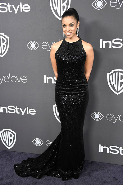 Long Dress「Warner Bros. Pictures And InStyle Host 18th Annual Post-Golden Globes Party - Arrivals」:写真・画像(0)[壁紙.com]