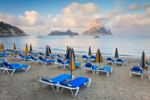 Deck Chair「Cala d'Hort Beach, Ibiza」:スマホ壁紙(6)