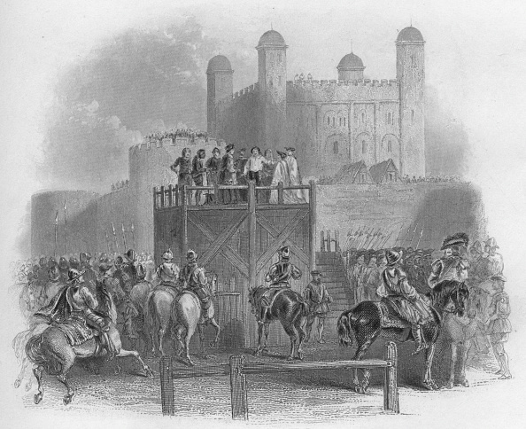 Elizabethan Style「The Execution of Dudley Earl of Leicester, 1859」:写真・画像(7)[壁紙.com]