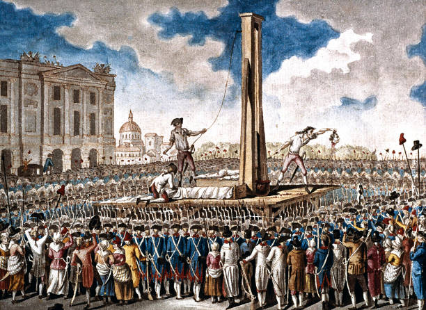 The Execution Of Louis Xvi In The Place De La Revolution On 21 January 1793:ニュース(壁紙.com)