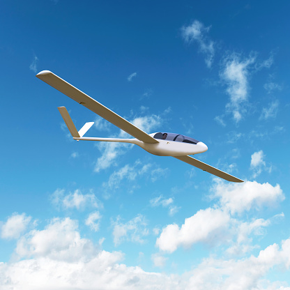 Unrecognizable Person「XL glider airplane soaring」:スマホ壁紙(3)
