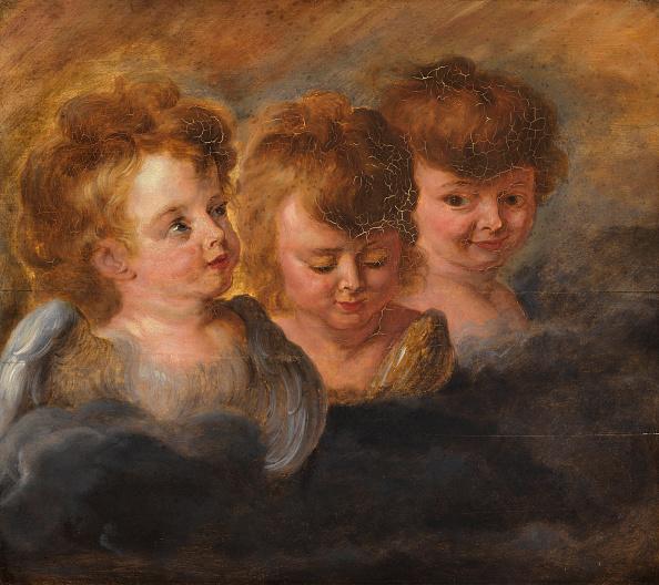 Angel「Three Angel Heads In The Clouds Creator: Rubens」:写真・画像(16)[壁紙.com]