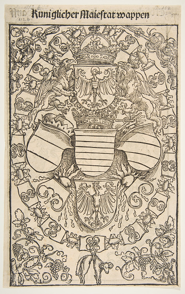 Full Frame「Recto: Coat Of Arms Of Maximilian I As King Of The Romans; Verso: Coat Of Arms Of Florian」:写真・画像(2)[壁紙.com]