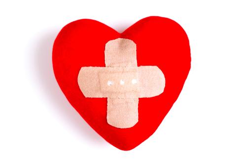 Teenager「Heart  with Adhesive Bandage」:スマホ壁紙(2)