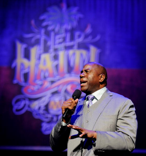 Magic Johnson「Help Haiti with George Lopez & Friends」:写真・画像(17)[壁紙.com]