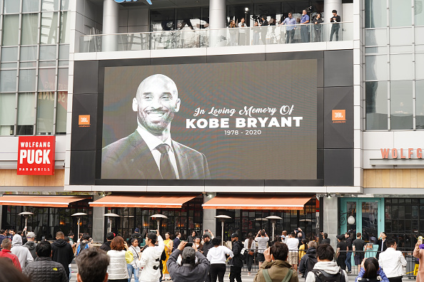 Staples Center「Los Angeles Remembers NBA Star Kobe Bryant」:写真・画像(0)[壁紙.com]