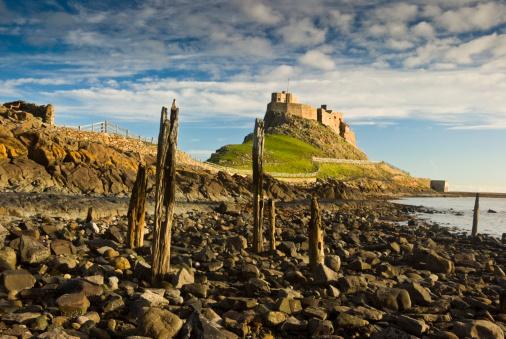 Castle「Lindisfarne Castle」:スマホ壁紙(18)